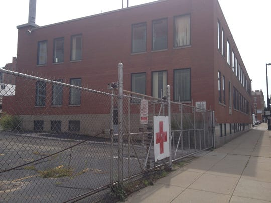 This is the American Red Cross building at 8th and Sycamore streets.