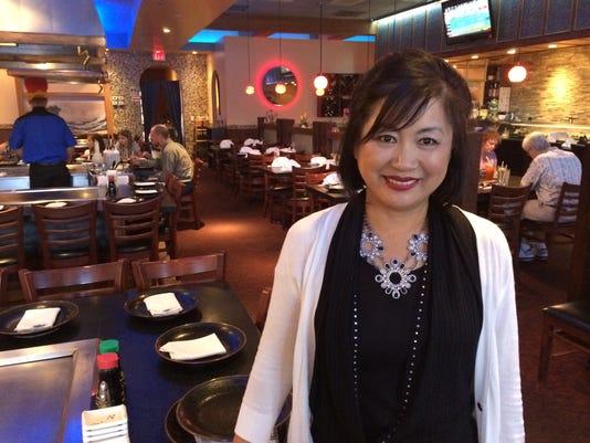Rosa Kim Origami restaurant Fort Myers