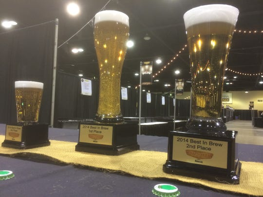 Festival attendees will get to vote for their favorite beers and trophies will be handed out to the top three.