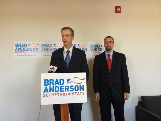 Brad Anderson military voting
