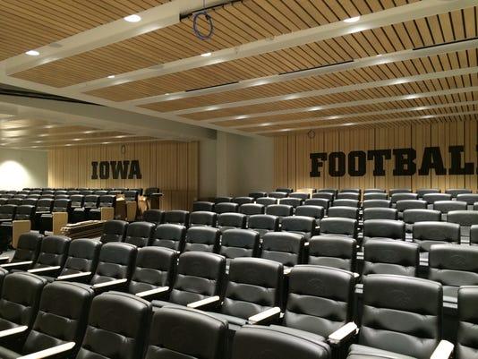 Iowa Football Team Meeting Room