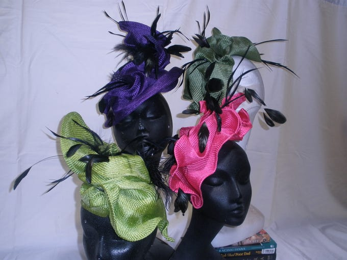"""""""Crazy Collection."""" Flamingo Jo Hats -<a href=""""http://www.flamingojo.com"""">www.flamingojo.com</a><p class=""""MsoPlainText""""></p>"""