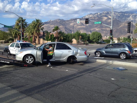 Palm Springs collision