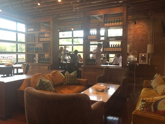 A lounge area at Postino Annex, which opens Oct. 1 at College Avenue and Sixth Street in Tempe.