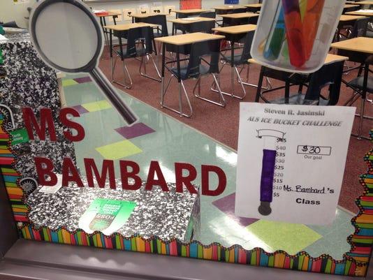 Ms. Bambard goal chart