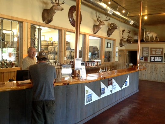Stein Distillery offers local whiskey and bourbon in the northeastern Oregon town of Joseph.