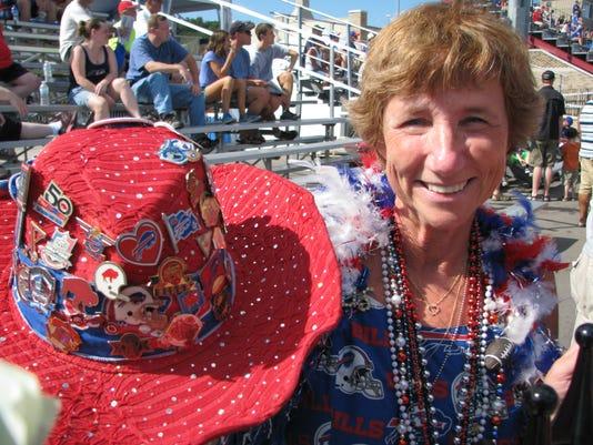 Female Bills fan 8-13-14