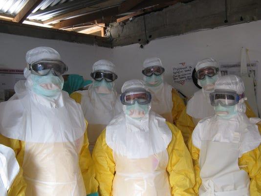 Ebola caregivers