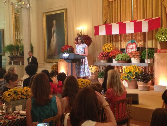 the ganserslistento the first lady