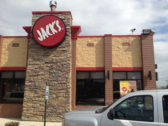 Jack's burger place in Decatur, Ala., where Lacey Spears, her mother, and brother and sister worked at some point or another. Jack's is where a high-schooler Lacey met Autumn Hunt. Lacey would care for Hunt's son, Jonathon, and tell friends that he was her son.