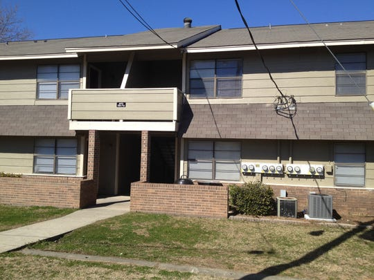The Cedar Key apartment complex in Decatur, Ala., where Lacey Spears met Chris Hill, the father of her son, Garnett.