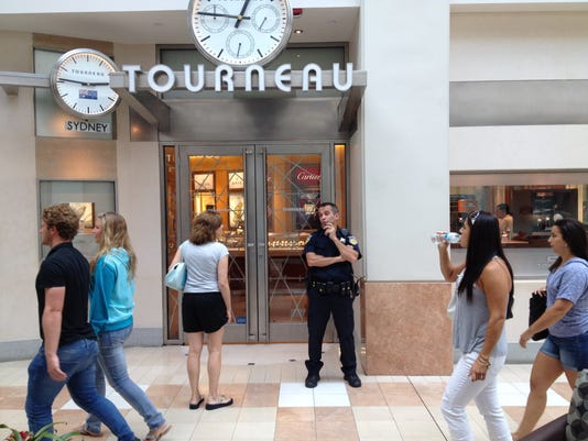 Smash and grab robbery at Tourneau at The Westchester mall