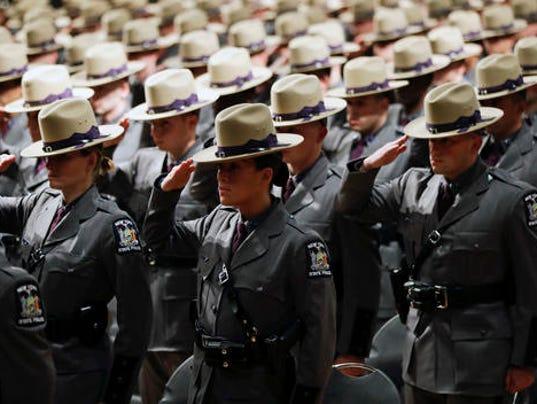 State Police Graduation