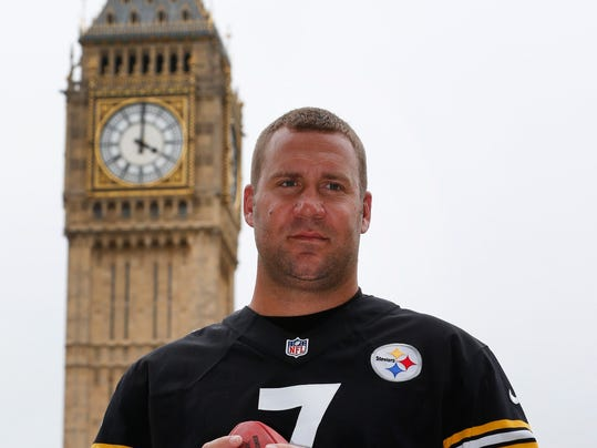 AP Britain US NFL Pittsburgh Steelers