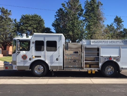 This 2017 HME Class A Pumper Trick is capable of delivering