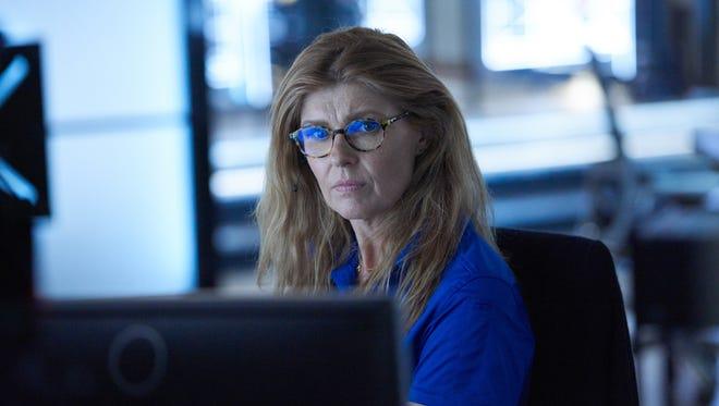 Connie Britton plays a 911 call center operator in Fox's first-responder procedural, '9-1-1.'