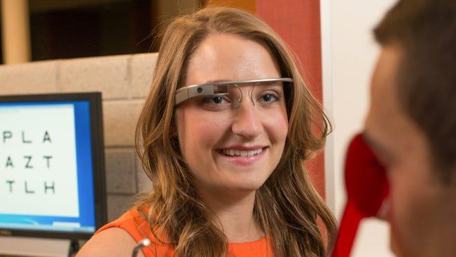 Ferris State University optometry student Elyse Kleifgen.