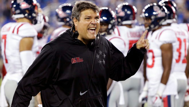 Matt Luke just guided Ole Miss through two emotional games, now the Rebels host Louisiana Saturday at 11 a.m.