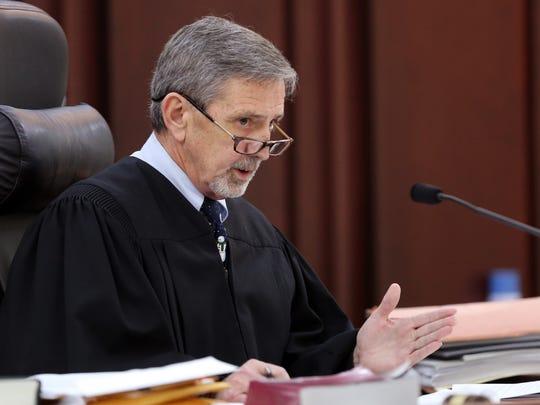 Judge Mark Fishburn explains the sentence for Todd