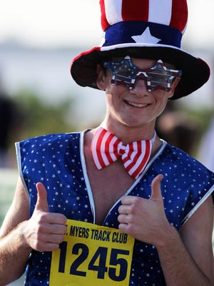 The Freedom 5K and Kids Fun Run are part of Tuesday's Red, White & Boom festivities.