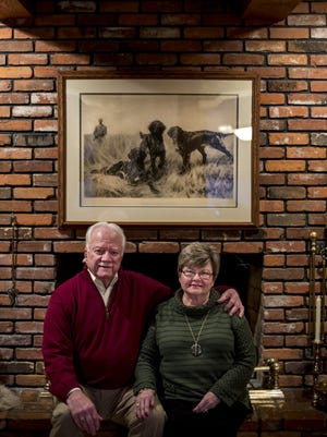 Bob and Julie Moak pictured at their Fort Gratiot home.