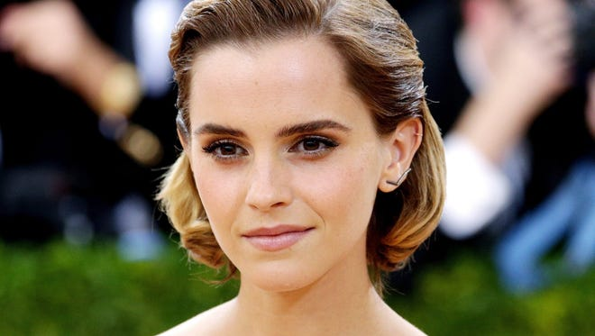 Emma Watson at the Met Gala in New York on May 2, 2016.