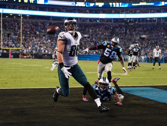 NFL: Philadelphia Eagles at Carolina Panthers