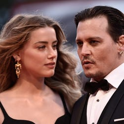The way they were: Johnny Depp and Amber Heard