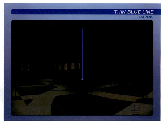Concept art for the night view of a proposed public