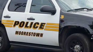 Moorestown police say a resident returned from a trip to find a $10,000 burglary at their home.