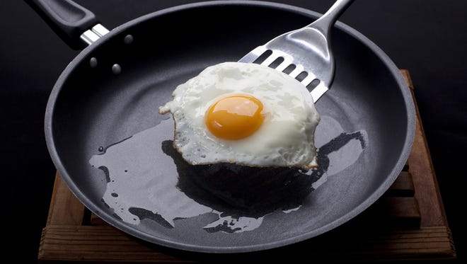 Getty Images/iStockphoto fried egg