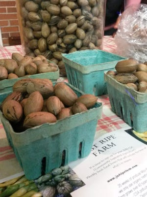 Just Ripe Farms offers pecans grown in South Carolina.