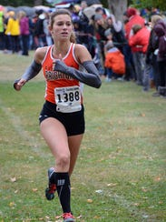 Brighton's Jenna Sica went to four state cross country
