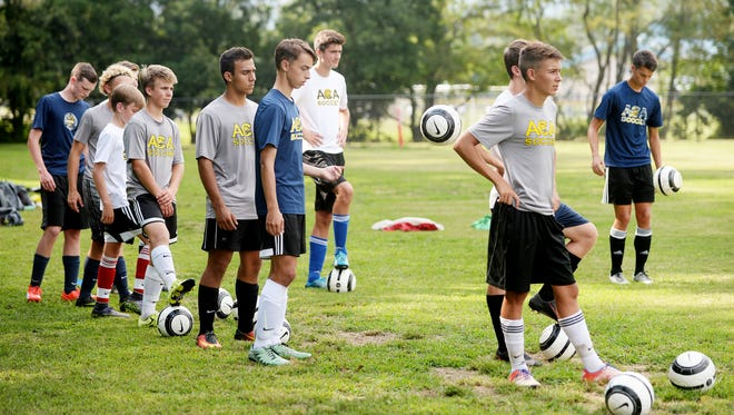 Asheville Christian Academy's boys soccer team will go for back-to-back state championships on Saturday.