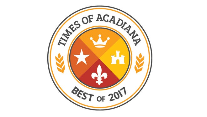 "Times of Acadiana 'Best of"" Logo"