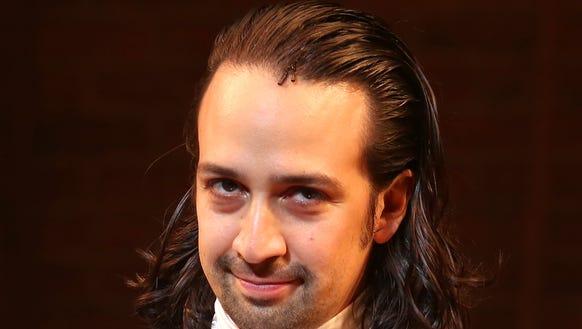Lin-Manuel Miranda still has long hair during his final