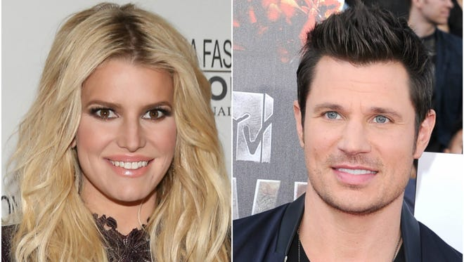 Jessica Simpson and Nick Lachey starred in MTV's 'Newlyweds' in 2003.