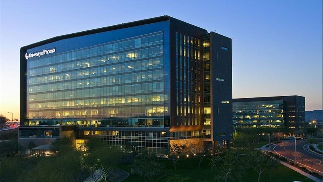 University Of Phoenix Parent S Hq Sold For 183 Million