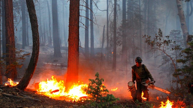 Democratic Sen. Ron Wyden of Oregon and Republican Sen. Mike Crapo of Idaho joined forces before the recess to attach a provision to the Senate budget resolution that should ease the way for a new funding mechanism for fighting the most severe wildfires.