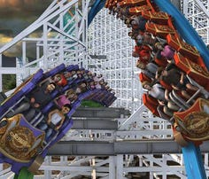 Twisted Colossus rises again at Six Flags Magic Mountain
