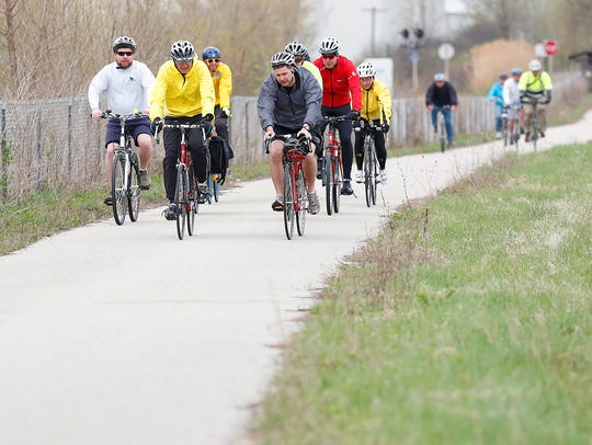 City of Fond du Lac staff, elected officials, bike