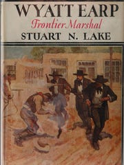 "Stuart Lake's 1931 book ""Wyatt Earp: Frontier Marshal"" portrayed Earp as the quintessential lawman and made him the legend he is today."