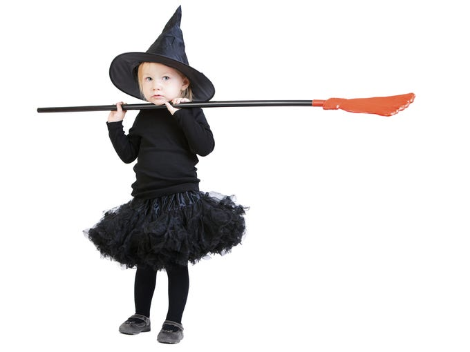 Calling all wannabe witches, goblins and pirates: Most children's costumes are half price while supplies last from AZ Costume Shop.
