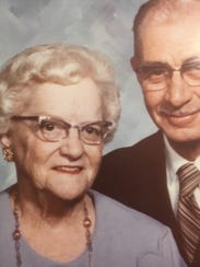 Griff Anderson's aunt and uncle, Ruth and Art Hansen,
