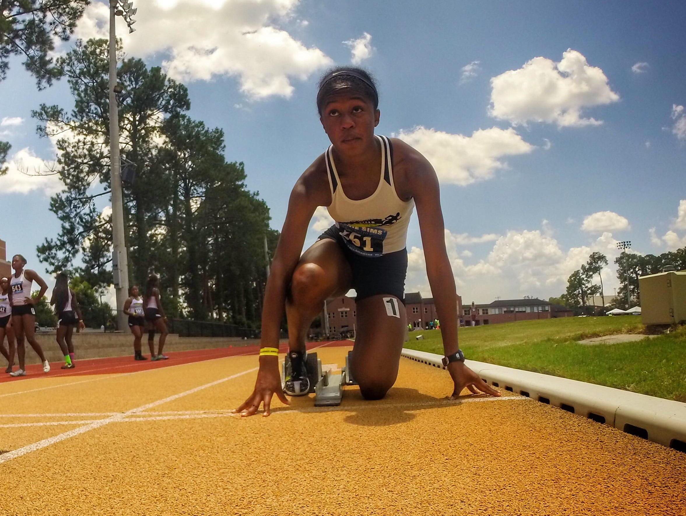 Chiles distance runner Jianni McDole has been improving her times through speed workouts this summer with track club North Florida Speed.