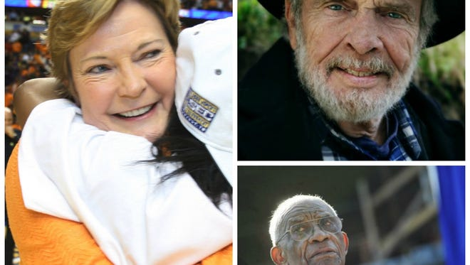 Pat Summitt, Merle Haggard and Ed Temple are among the Tennessee legends who died in 2016.