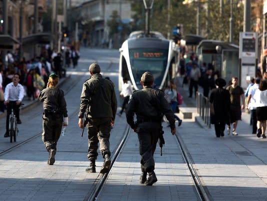 EPA MIDEAST ISRAEL PALESTINIANS JERUSALEM WAR CONFLICTS (GENERAL) ISR