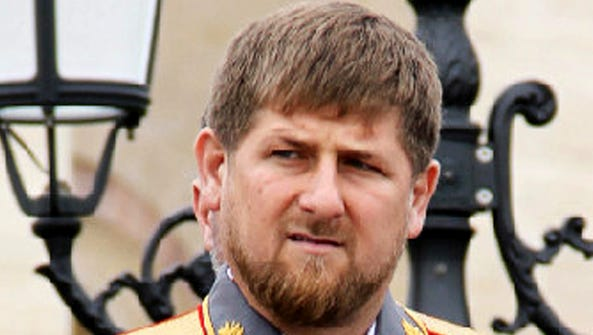 A file picture taken on May 9, 2011, shows Chechen