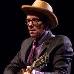 Elvis Costello, seen performing an acoustic show in Scottsdale in 2010