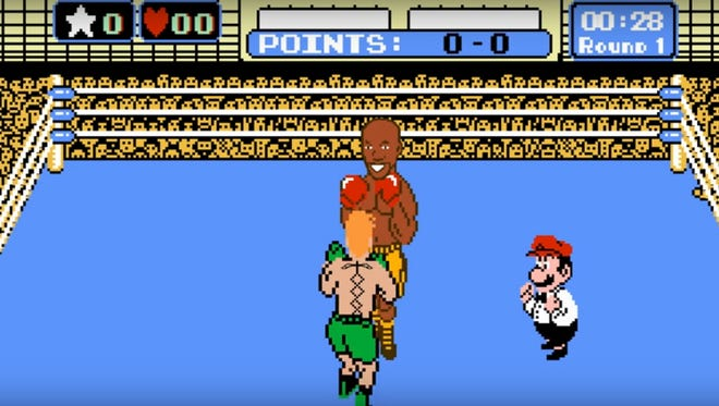 """A parody of Floyd Mayweather fighting Conor McGregor using Nintendo's """"Punch-Out."""""""